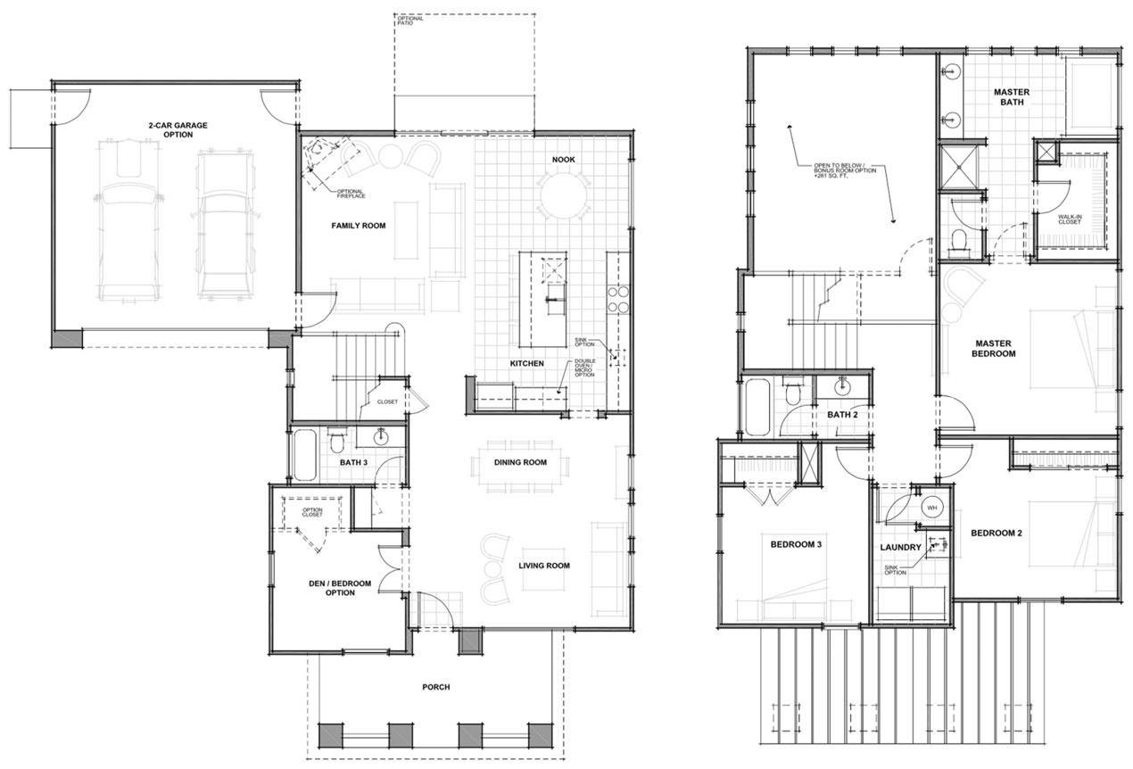 ashland floor plan - Jkb Homes Floor Plans