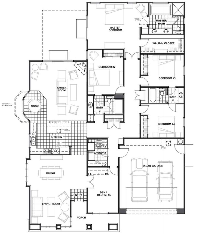 lexington floor plan - Jkb Homes Floor Plans
