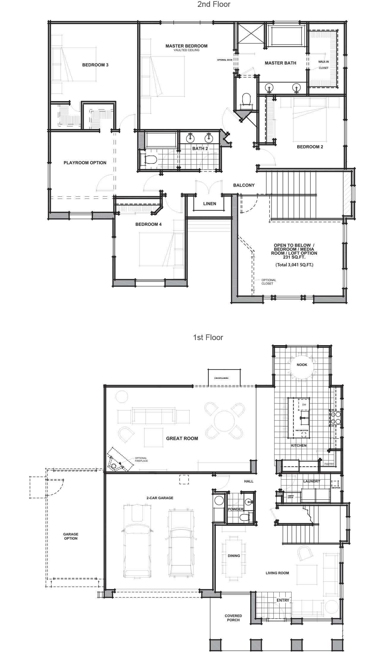 louisville floor plan - Jkb Homes Floor Plans