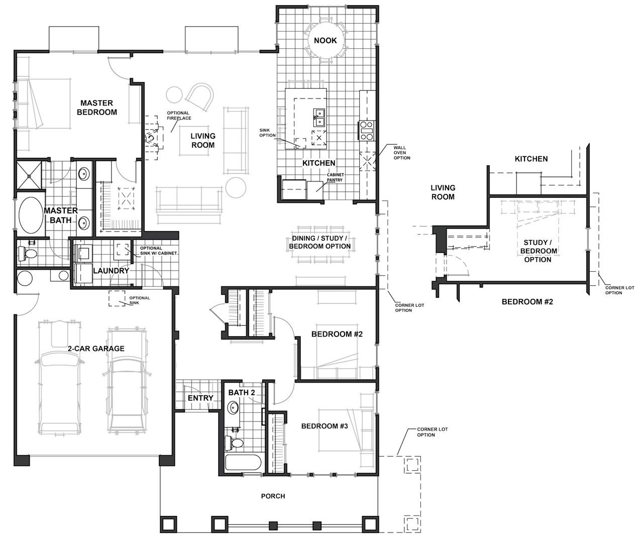 marysville floor plan - Jkb Homes Floor Plans